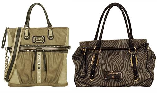 Guess apresenta oito linhas de bolsas e carteiras para a Primavera 2011 - Verão 2012