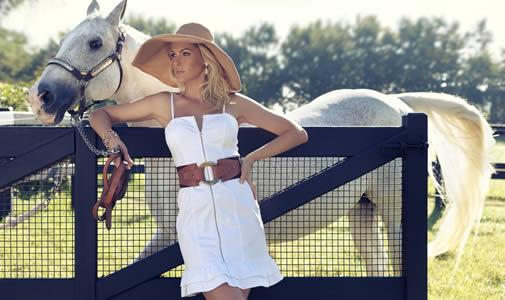 Roupas Ana Hickmann Equus Moda Feminina Verão 2012 Estilo True Liberty
