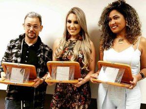 Robson Santos -- Michele Correa -- Elizangela Dias -- Prêmio Findes de Moda 2017
