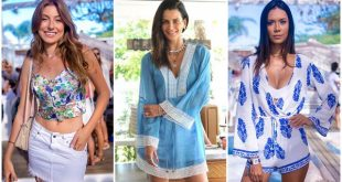 looks da moda verao jurere Beach clubs