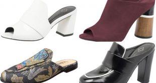mules da moda calcados
