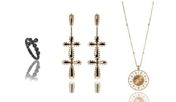 Moda joias – A designer de joias Carla Amorim lança sua nova coleção Sagrado