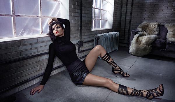 Moda Calçados – Isabeli Fontana posa para coleção inverno 2016 da Morena Rosa Shoes