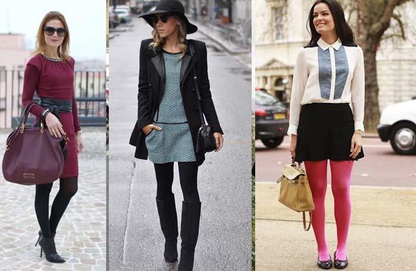 Dicas de Moda Feminina : como usar vestidos e saias no inverno