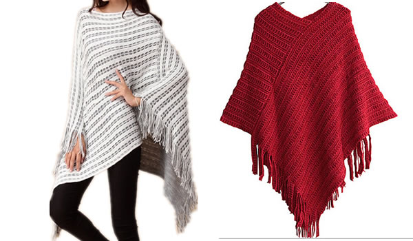 Dicas de Moda Inverno 2016 Ponchos Inverno 2016 01