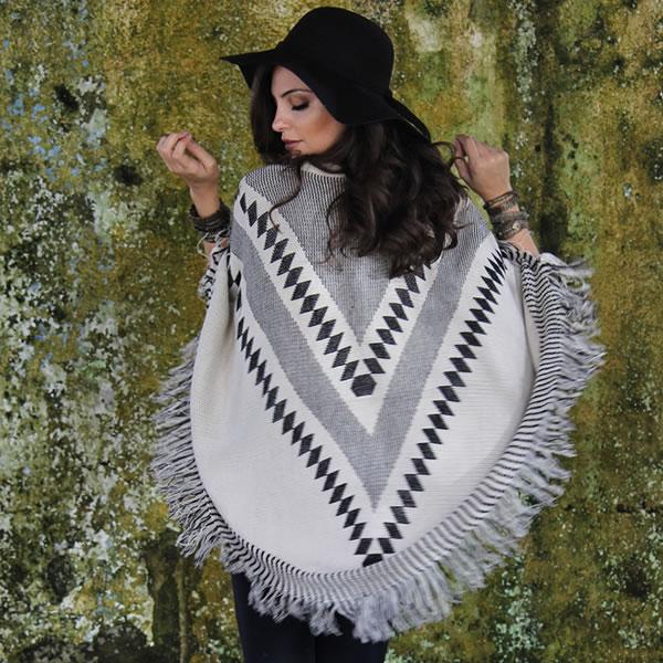 Dicas de Moda Inverno 2016 Ponchos Inverno 2016 03