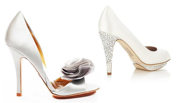 moda noivas calcados para noivas sapatos