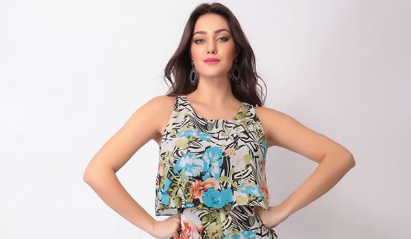 58b85abc4 Looks da Moda Feminina - Estampas florais para primavera - Looks da Moda