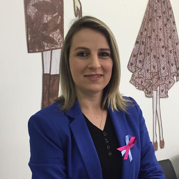 Bruna Michel, docente dos cursos de moda do Senac Novo Hamburgo – Foto Enfato MultiComunicação / Divulgação
