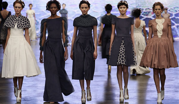 Alunas da Faculdade Senac Porto Alegre levaram a moda gaúcha ao Concurso dos Novos no Dragão Fashion Brasil 2016 – Foto Senac/RS