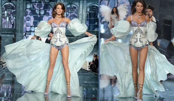 Flavia Lucini Top Model Victoria Secrets