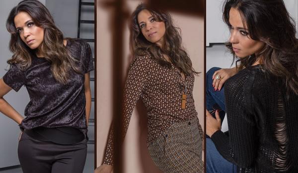 Looks da Moda Feminina : Cia da Moda lança coleção outono-inverno 2017 assinada por Adriana Amaral