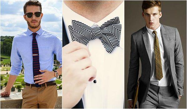 gravatas da moda masculina
