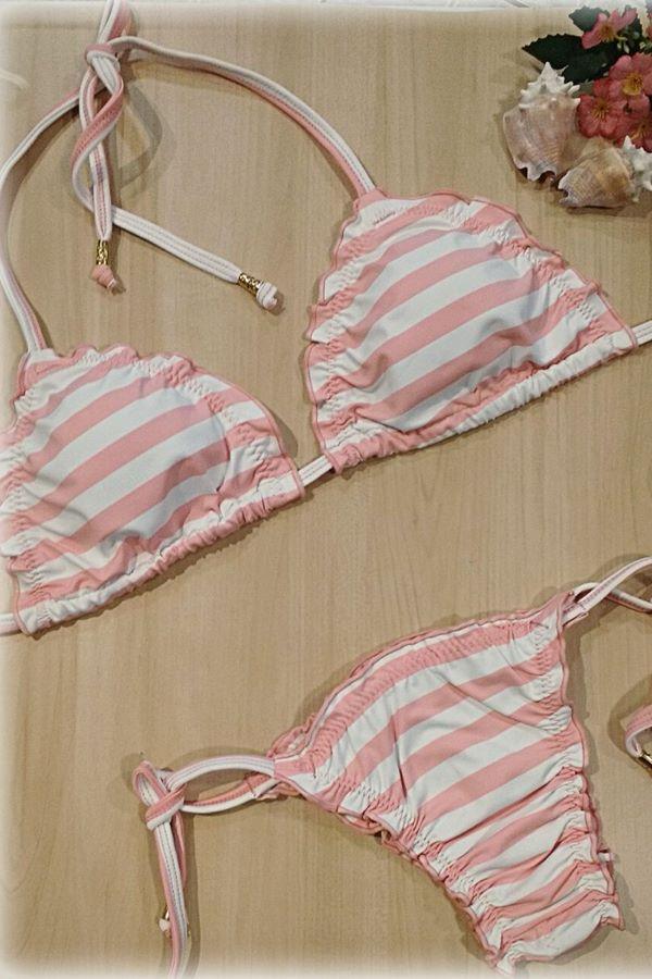 Moda Praia Verão 2018 : biquíni Ripple da Donna Shop Lingerie