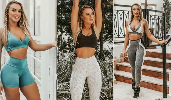 Foto Monick Camargo Looks da Moda Fitness 2018