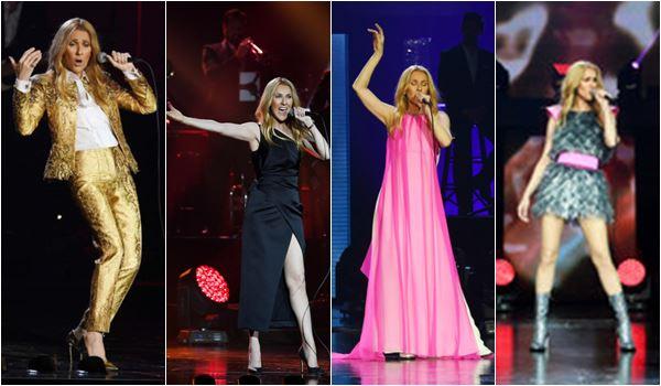 Look Celine Dion Schiaparelli Haute Couture