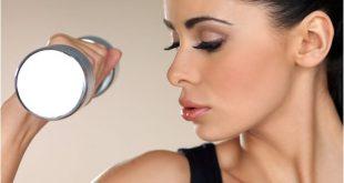 Looks da Moda nas Academias Mulheres maquiadas em exercicios fisicos