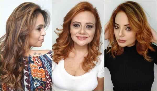 or ruivo cabelos da moda inverno 2019