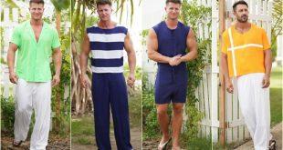 Franklin Eugene menswear collection - Fashion summer 2020