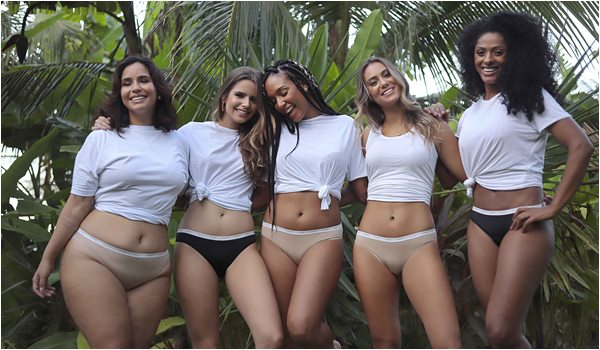 Calcinha Ecológica Looks da Moda Íntima Feminina