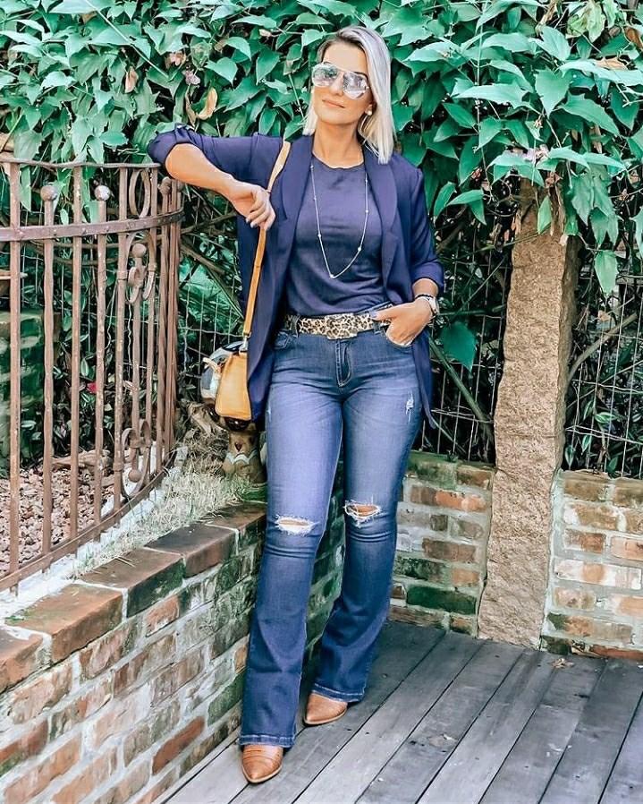 Cris Azambuja influencer e consultora de moda - Denim Day